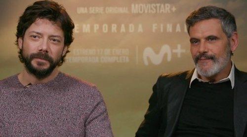 """Álvaro Morte: """"'El embarcadero' está muy terminada, pero también lo estaba 'La Casa de Papel' y mira luego"""""""