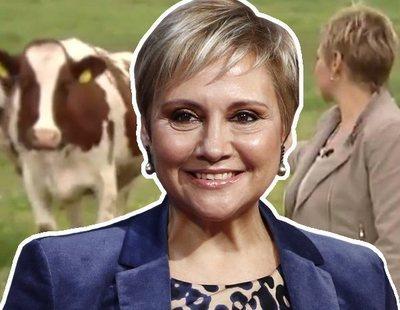 """Glòria Serra: """"Mis compañeros filtraron el vídeo de la vaca y ahora todos creen que tengo poderes Jedi"""""""