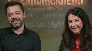 """Esther Martínez Lobato: """"Siempre puedes generar otra temporada de 'El embarcadero', pero sería otra historia"""""""