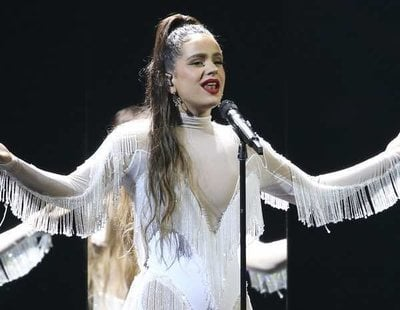 """Rosalía canta """"Juro Que"""" y """"Malamente"""" en los Grammy 2020 tras ganar a Mejor Álbum Latino Alternativo"""