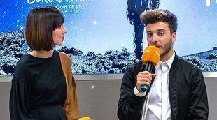 "Eurovisión 2020: Blas Cantó presenta ""Universo"" en rueda de prensa"