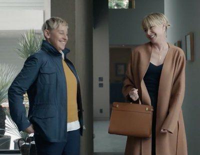 Anuncio de Amazon para la Super Bowl 2020, con Ellen DeGeneres y Portia de Rossi