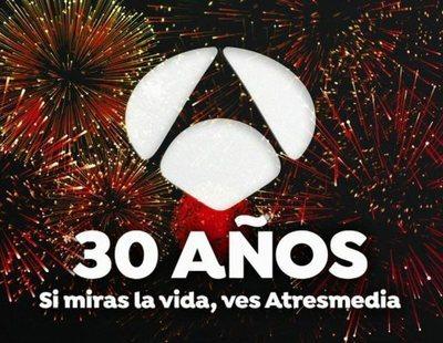 Antena 3 celebrará sus 30 años con un programa especial el próximo lunes 10 de febrero