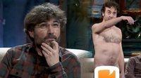 """El """"hombre desnudo"""" vuelve a 'La resistencia' e interrumpe la entrevista a Jordi Évole"""