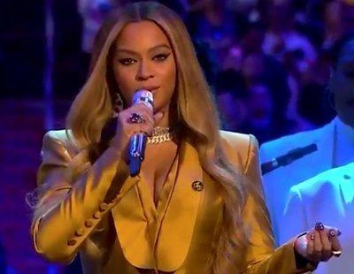"""Beyoncé emociona en el funeral de Kobe Bryant con su versión gospel de """"Halo"""""""