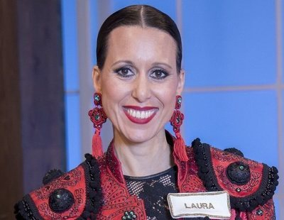 """Laura ('Maestros de la costura'): """"Yo soy la mala estudiante de la clase que en el examen final tiene suerte"""""""