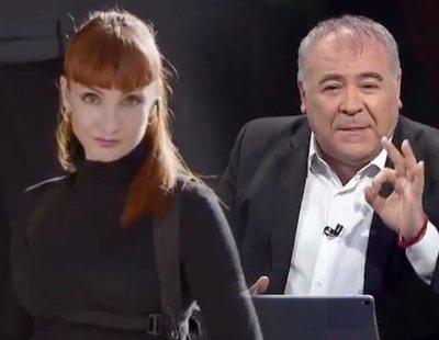 'La Casa de Papel' invade 'Al rojo vivo' con esta entrevista de Ferreras a la inspectora Sierra y Tamayo