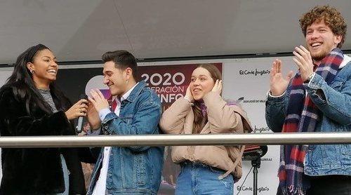 'OT 2020': Así hemos vivido la firma de discos en Madrid con Nia, Eva, Bruno y Jesús
