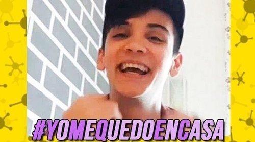 """#YoMeQuedoEnCasa con Dave Zulueta: """"Al principio los expulsados de 'OT 2020' no se creen el coronavirus"""""""