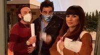 'La que se avecina' se prepara para grabar su última junta en el portal de Mirador de Montepinar