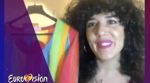 """Lydia Rodríguez: """"No he lavado nunca el vestido de Eurovisión 1999"""""""