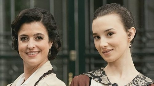 "Ylenia Baglietto y Aria Bedmar ('Acacias 38'): ""No poder tocarnos ha dado a mucha verdad a 'Maitino'"""
