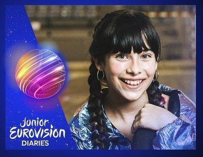 """Melani García anuncia una """"sorpresita"""" y avisa: """"Me encantaría volver a Eurovisión Junior"""""""