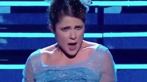 """El mash-up definitivo: Una concursante de 'Tierra de talento' une a """"Frozen"""" con Pastora Soler"""