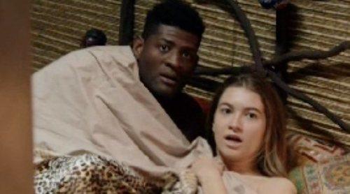 Carlota Boza y Ricardo Nkosi, pillados en la cama en la promo de 'La que se avecina'