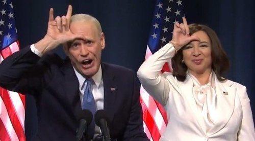 La divertida imitación de Jim Carrey como Joe Biden burlándose de la derrota de Trump en 'Saturday Nigth Live'