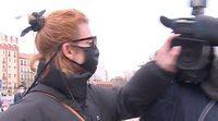 Najwa Nimri, muy violenta, agrede a varios periodistas a su llegada a Madrid tras los Goya 2021