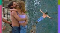 "Así se rodó la espectacular escena del acantilado de ""No te fallaré"", la película de 'Compañeros'"