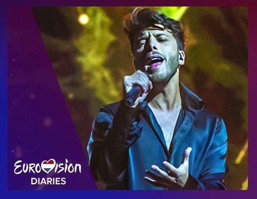 Lo mejor y lo peor del primer ensayo de Blas Cantó en Eurovisión 2021