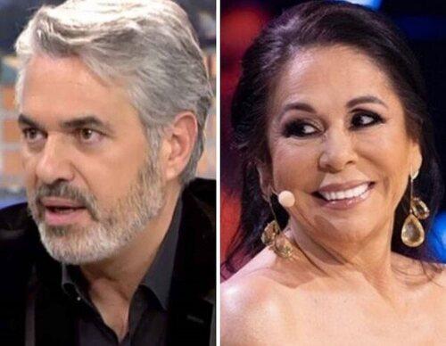 Agustín Bravo recuerda en 'Está pasando' su monumental bronca con Isabel Pantoja