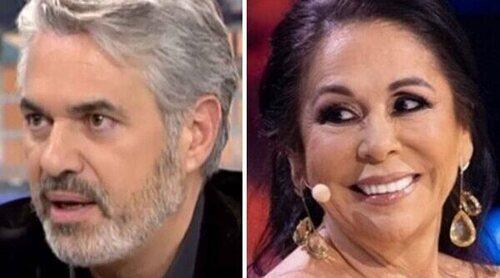 Agustín Bravo recuerda su monumental bronca con Isabel Pantoja desde 'Está pasando' en Telemadrid