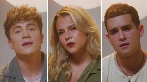 """Los integrantes de Mantra presentan su disco """"Prólogo"""" y aseguran que Eurovisión no está entre sus prioridades"""