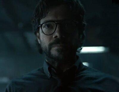 'La Casa de Papel' encadena a El Profesor en el teaser tráiler de la quinta parte