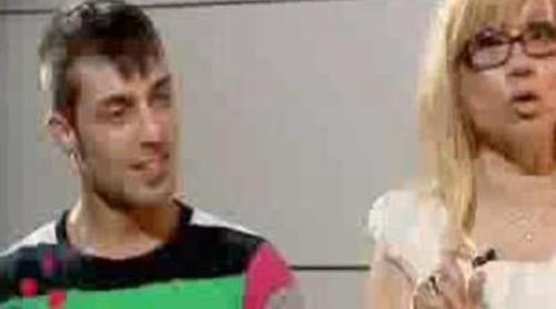Presentación del stripper David Olid y su madre Julia de '¿Quién quiere casarse con mi hijo?'