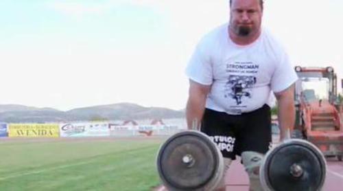 'Conexión Samanta' asiste al Campeonato de Strongman de Ronda