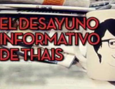 La actriz Loles León comenta la actualidad con Thais Villas