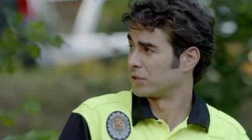 Dani Muriel interpreta a un policía local en el próximo episodio de 'Homicidios'
