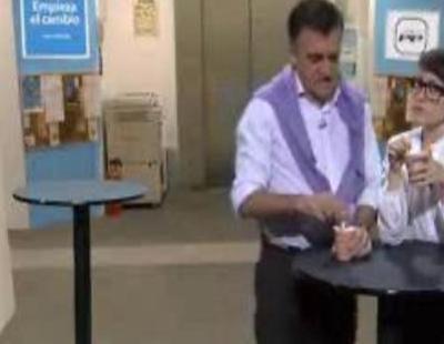 'Camera PP', la parodia de 'El intermedio' de 'Camera Café' en la sede del Partido Popular