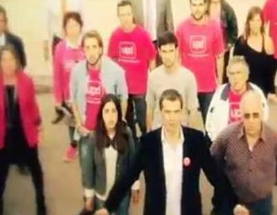 Toni Cantó pide el voto para UPyD a ritmo de rap