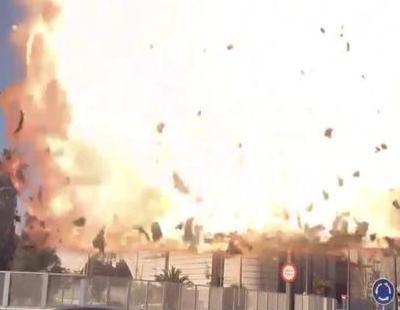Un misil destruye la sede de Canal 9 en un vídeo enlazado por Toni Cantó