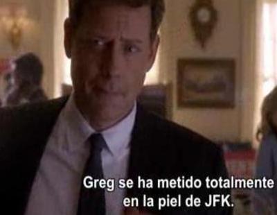 Greg Kinnear habla sobre JFK, su personaje en 'Los Kennedy'