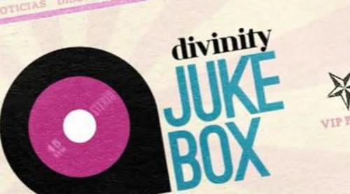 La cabecera de 'Divinity Jukebox' presenta una estética vintage años 50