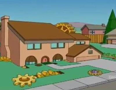 'Los Simpson' versiona la cabecera de 'Juego de tronos' reconstruyendo Springfield