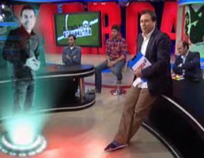 "MarcaTV utiliza la promo ""holográfica"" dentro de 'Futboleros'"