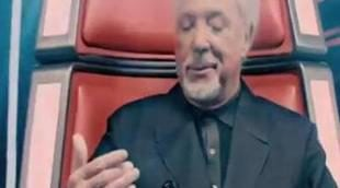 Tom Jones, Danny O'Donoghue, will.i.am y Jessie J en la promo de 'The Voice' como jurado en Reino Unido