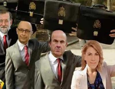 Mariano Rajoy y su Gobierno protagonizan la parodia del anuncio de Loewe de 'El hormiguero'