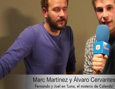 """Álvaro Cervantes: """"'Luna, el misterio de Calenda' es más madura que """"Crespúsculo"""""""