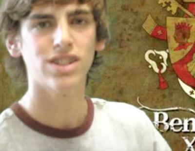 Un colegio de Jaén gana el concurso de 13tv para felicitar el cumpleaños a Benedicto XVI