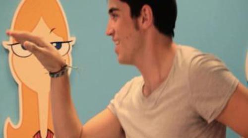 """Los actores españoles de Disney Channel """"hacen el Perry"""" con el baile del ornitorrinco"""
