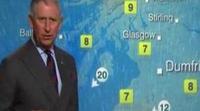 El Príncipe Carlos de Inglaterra se convierte en el hombre del tiempo de la BBC