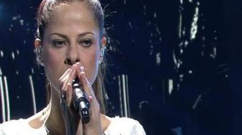 Primer ensayo de Pastora Soler en Bakú para Eurovisión 2012