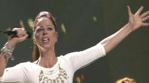 "Segundo ensayo de Pastora Soler: ""Quédate conmigo"" en Eurovisión 2012"
