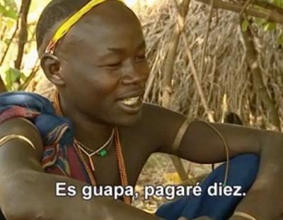 Un suri quiere casarse con Chabeli a cambio de 10 vacas en 'Perdidos en la tribu'