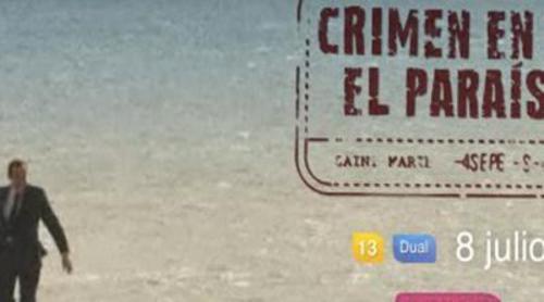 Así promociona Cosmopolitan TV 'Crimen en el paraíso', protagonizada por Ben Miller