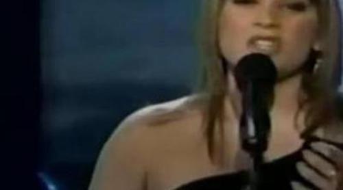 """Leticia Pérez canta en 'Operación Triunfo 3' la canción """"Run to you"""" de Whitney Houston"""