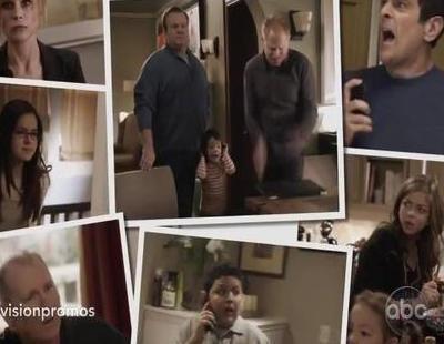 Gloria comunica su alegre noticia a sus familiares en la nueva promo de 'Modern Family'